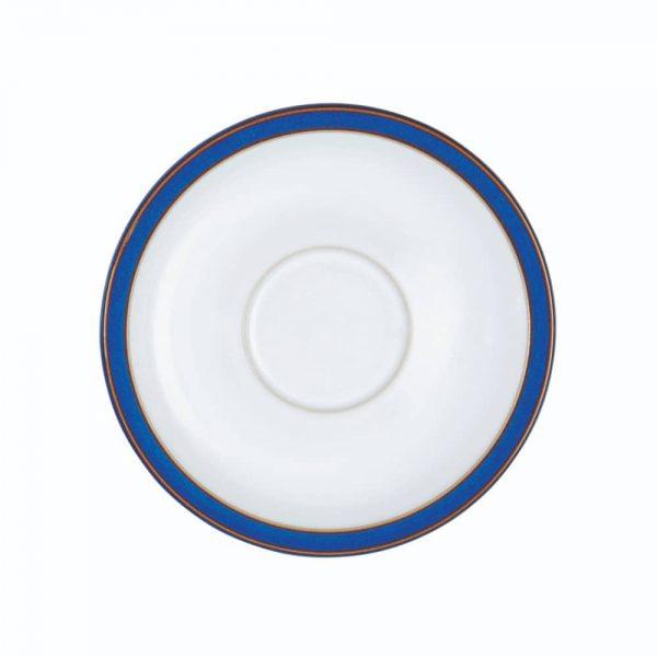 Denby Imperial Blue Tea Saucer 15.5cm