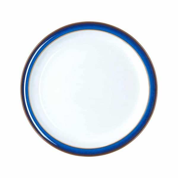 Denby Imperial Blue Dessert Salad Plate 22cm