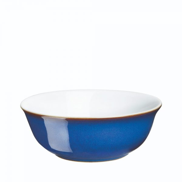 Denby Imperial Blue Soup Cereal Bowl 16.5cm