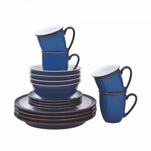 Denby Imperial Blue 16 Piece Set