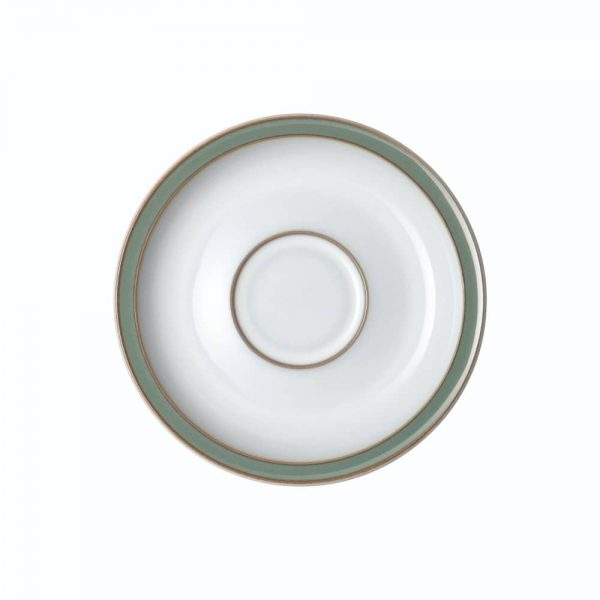 Denby Regency Green Tea Saucer 15.5cm