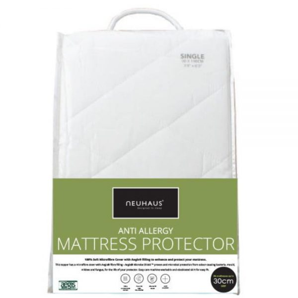 Neuhaus anti-allergy mattress protector.