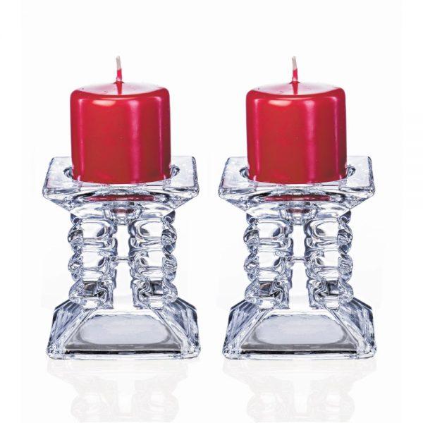 Ziggy 8.5cm Pair Candleholders