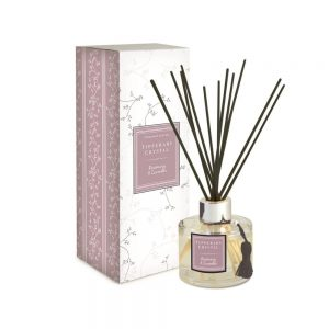 Tipperary Crystal Rosemary & Lavender Diffuser Set