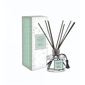 Tipperary Crystal White Tea Diffuser Set