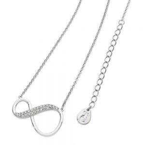 8 Shape Infinity Pendant Silver