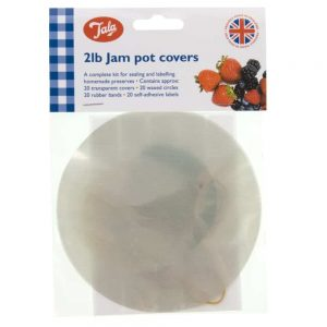 2lb Jam Pot Covers Approx 20