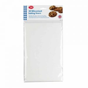 Siliconised Baking Liners - Pack of 20