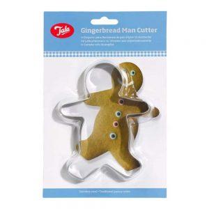Gingerbread Man Cutter Stainless Steel