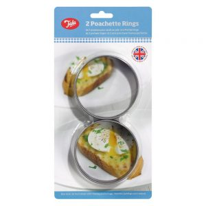 Set of Two Poachette Rings Non Stick Coated