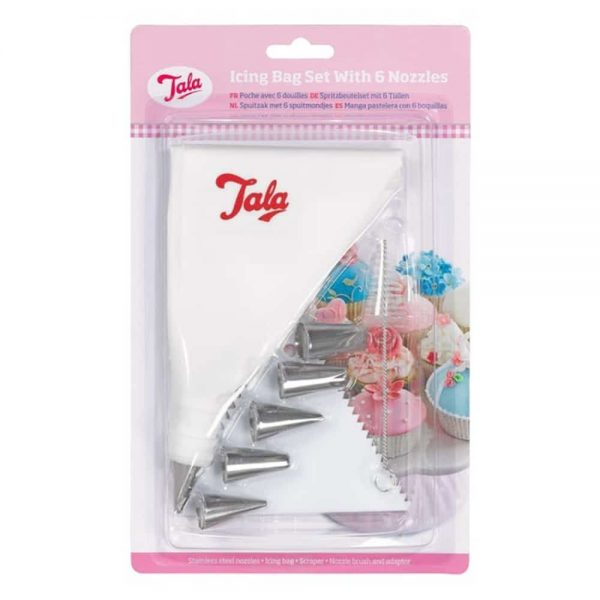 Icing Bag Set With 6 Nozzles