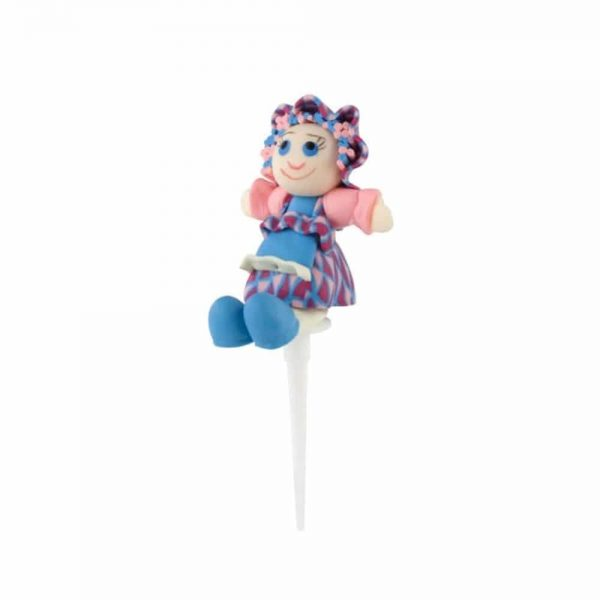 Tala Blue Rag Doll Cake Topper