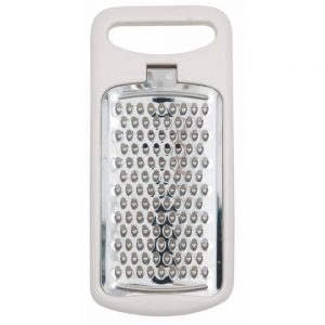 Stainless Steel Handy Grater With Plastic Frame