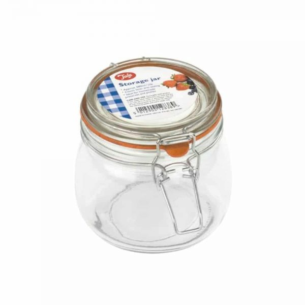 Airtight Lever Arm Storage Jar 380ml  - 3/4 lb