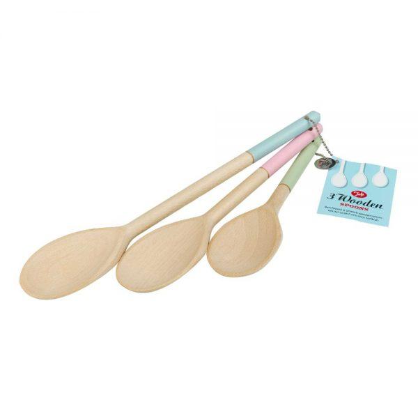 Tala Originals FSC Set Of 3 Wooden Spoons