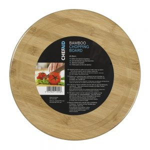 Chef Aid Bamboo 25cm Round Board