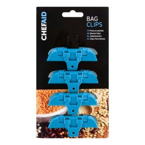 Bag Clippets Set Of 4 Carded