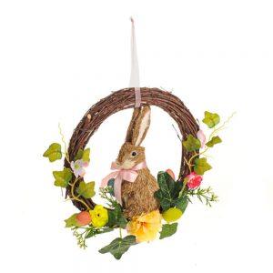 Bella Bunny Hanging Rabbit Wreath
