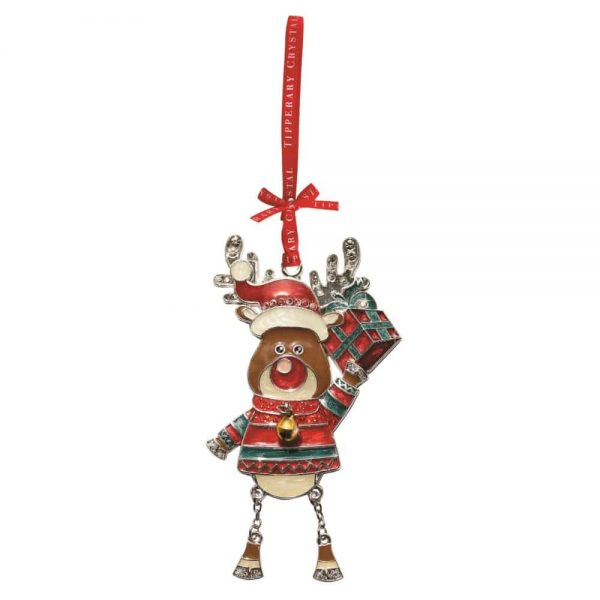 Reindeer with Present Christmas Decoration