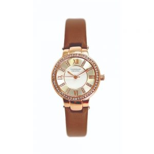 Tipperary Continuance RoseGold Watch Leather Strap