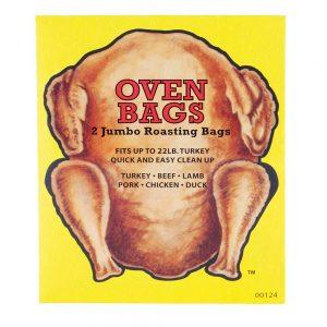 Two Jumbo Oven Roasting Bags