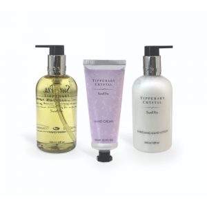 Sweet Pea Hand Lotion and Wash with Hand Cream