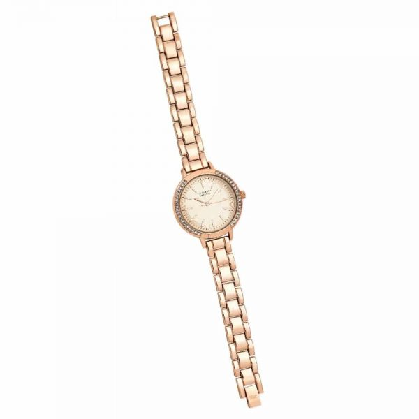 Tipperary Crystal Iris Watch Rose Gold
