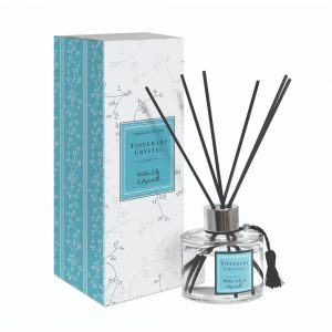 Tipperary Crystal Water Lily and Hyacinth Diffuser