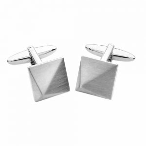Tipperary Crystal Anvil Cufflink Pair