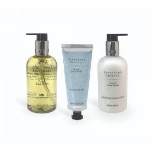 French Linen Hand Lotion and Wash with Hand Cream