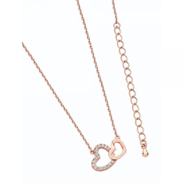 Tipperary Rose Gold Heart Pendant