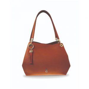 Tipperary Crystal Tote Bag - Sicily Tan