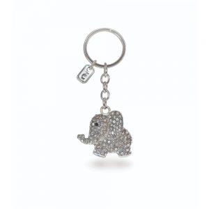 Tipperary Crystal Elephant Sparkle Keychain