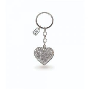 Tipperary Love Heart Sparkle Keychain