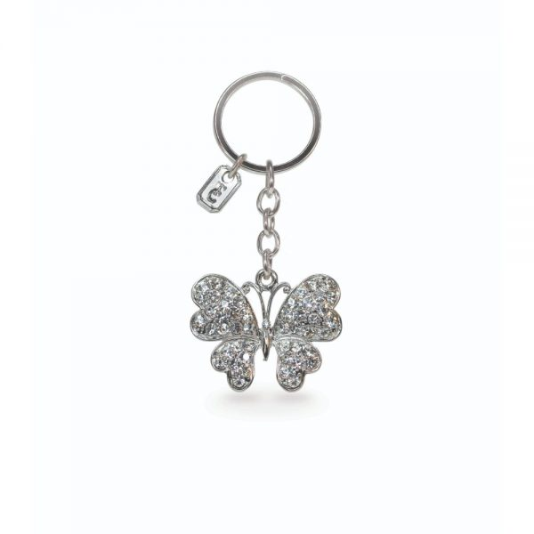 Tipperary Butterfly Sparkle Keychain