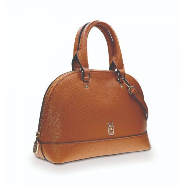 Tipperary Crystal Bowling Bag - The Mayfair Tan
