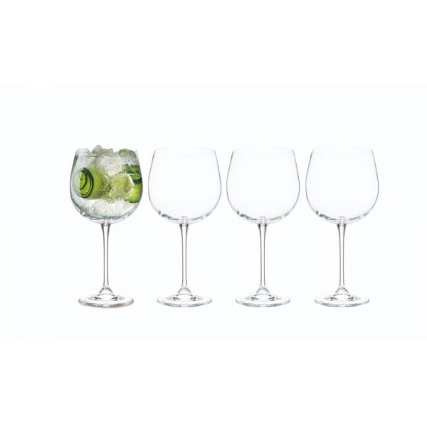 Tipperary Crystal Connoisseur Set of 4 Gin Glasses