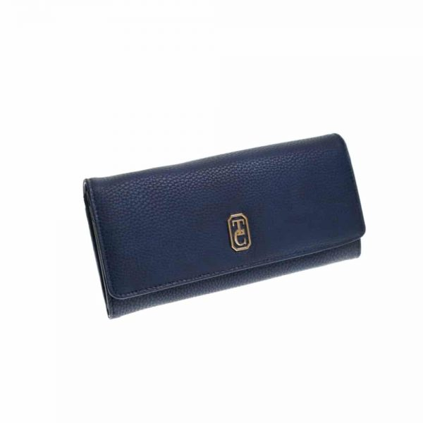 Tipperary Crystal Clarence Purse Navy Large