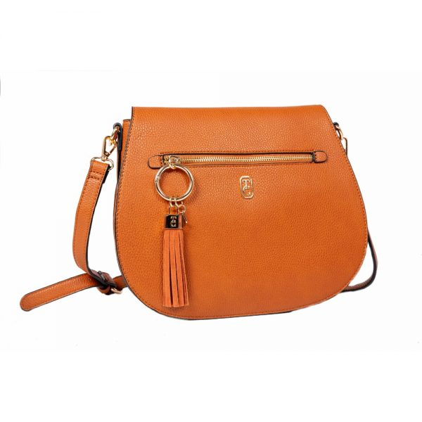 Tipperary Crystal Savoy Large Satchel Bag Tan
