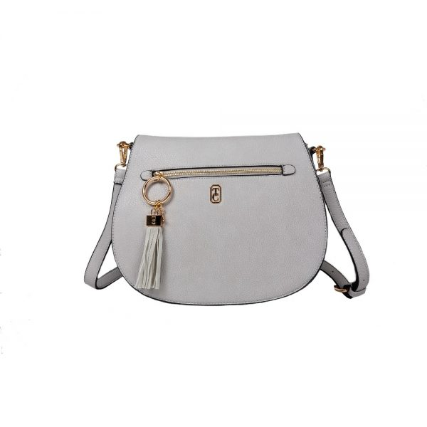 Tipperary Savoy Large Satchel Bag Grey