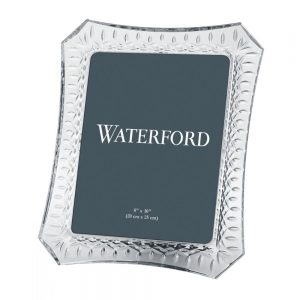 Waterford Crystal Lismore 8x10in Photo Frame