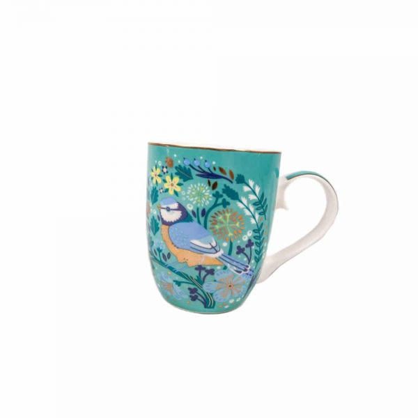 Tipperary Single Birdy Mug Blue Tit