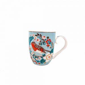 Tipperary Single Birdy Mug Robin