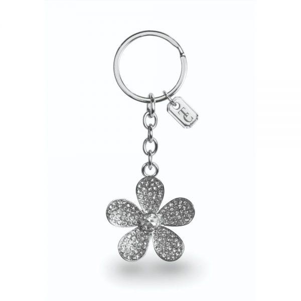 Tipperary Crystal Flower Sparkle Keychain