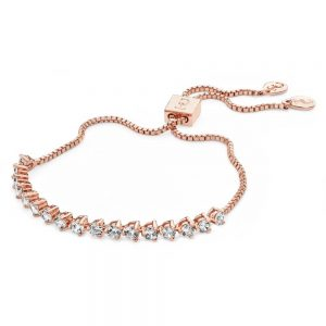 Tipperary Round Tennis Bolo Bracelet Rose Gold