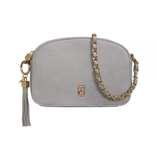 Tipperary Cannes Shoulder Bag Grey