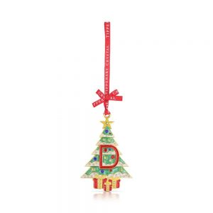 Tipperary Alphabet Christmas Tree Decoration D