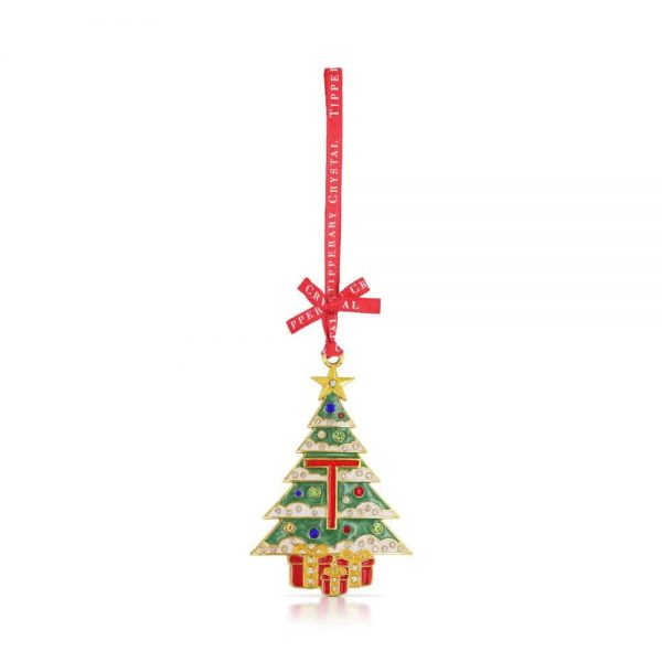 Tipperary Alphabet Christmas Tree Decoration   T