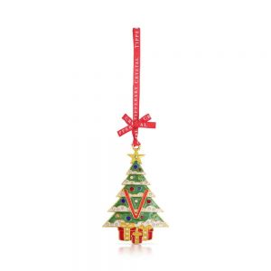 Tipperary Alphabet Christmas Tree Decoration   V
