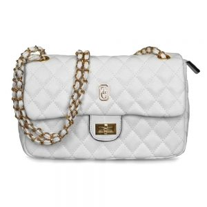 Quilted Palermo off White Handbag